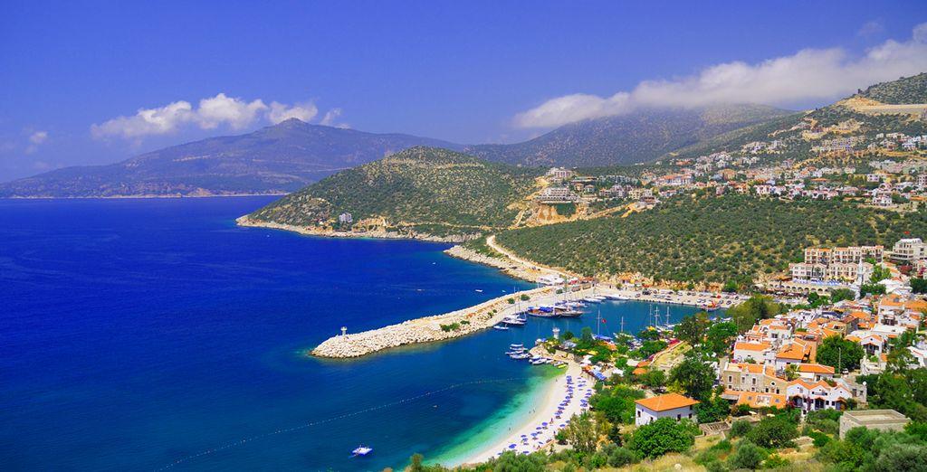 The glorious Kalkan coast - Asfiya Hotel Kalkan