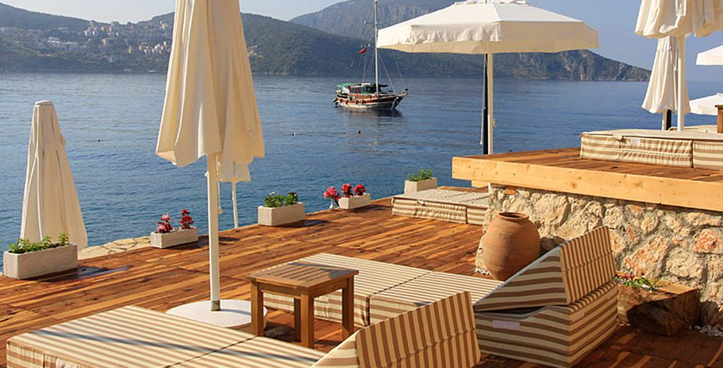 Unwind in style at this boutique resort - Asfiya Hotel Kalkan