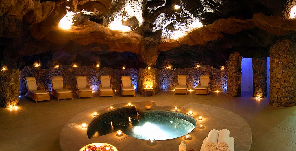 Or head to the beautiful spa to rejuvenate