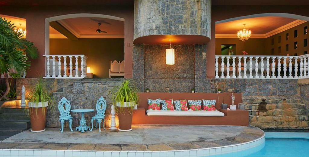This is La Maison by Dussol a contemporary boutique hotel outside of Rio...