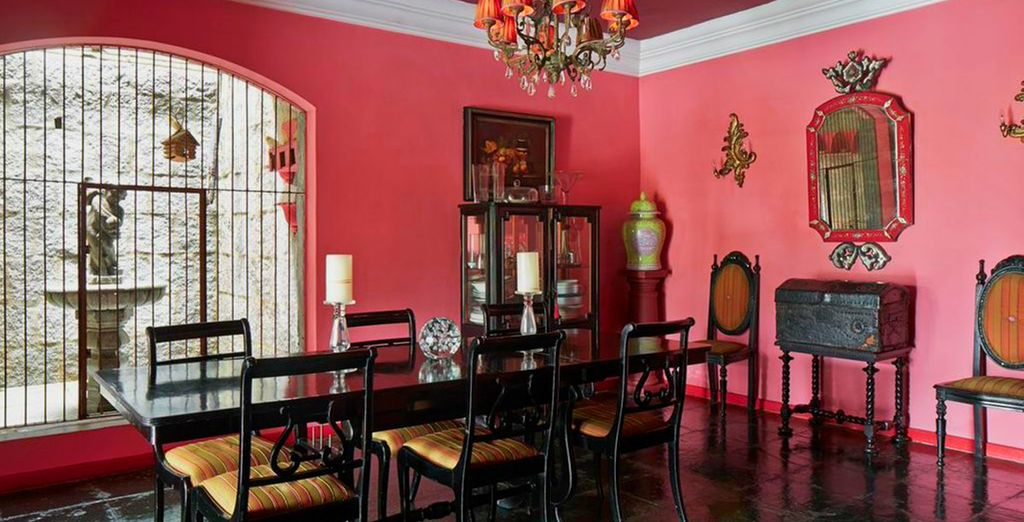 Try meals in the homely setting of the dining room...