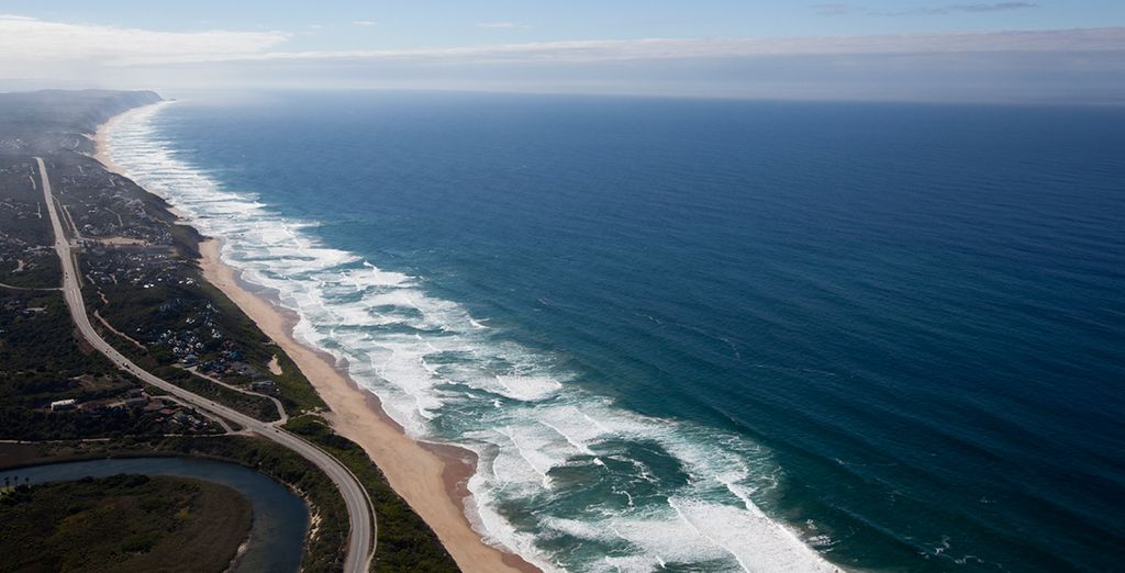 You'll then drive along the famous garden route