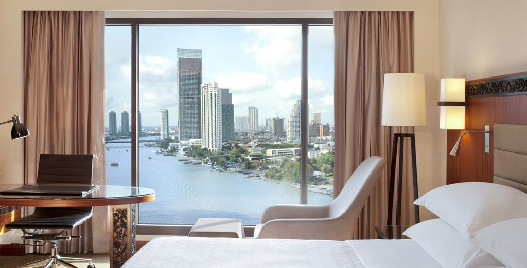 Sleep in a Deluxe River View Room