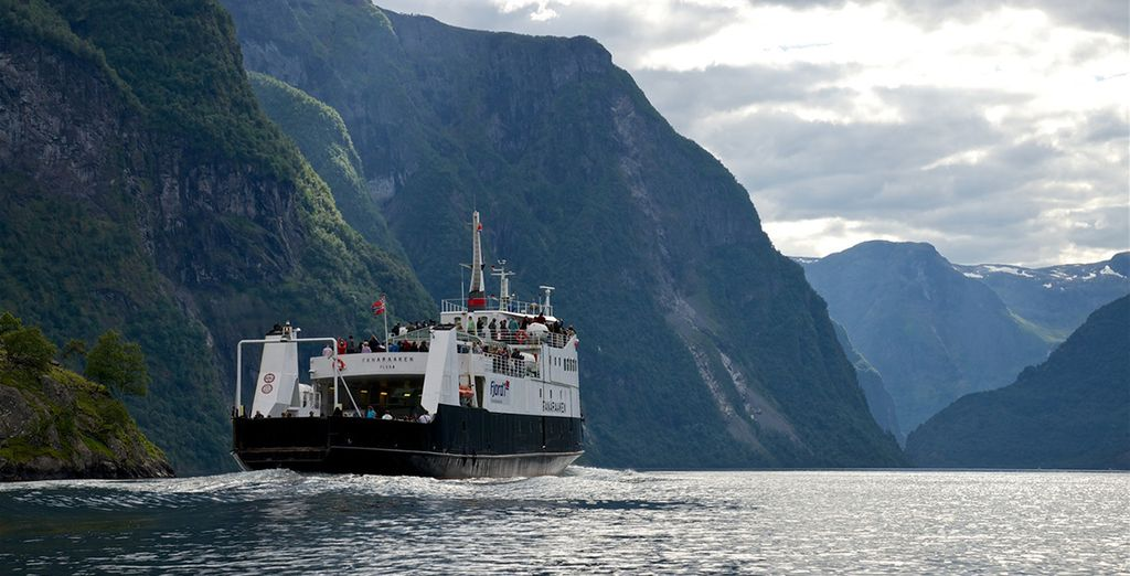 And enjoy a cruise through some of the most stunning fjords