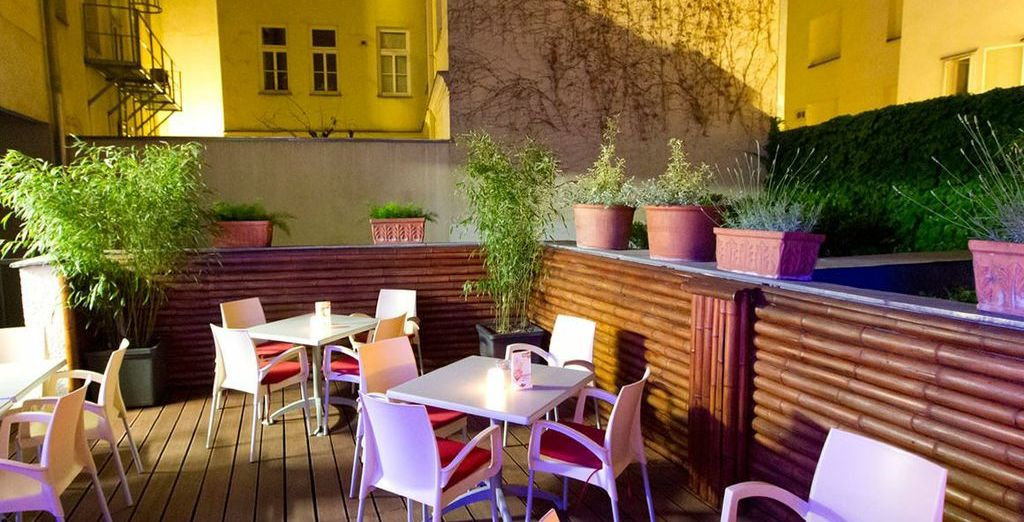 Unwind in the evening outside on the patio and take in the atmosphere