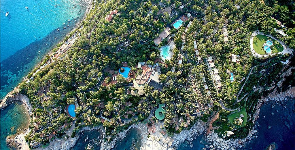 Part of the Arbatax Park Resort - the largest park & spa in Sardinia