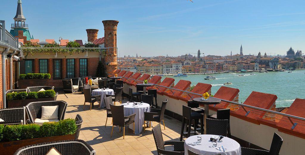 From the Hilton Molino Stucky - Hilton Molino Stucky 5*  Venice