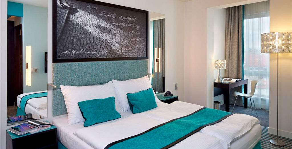 Red and Blue Design Hotel Prague 4* - last minute deals