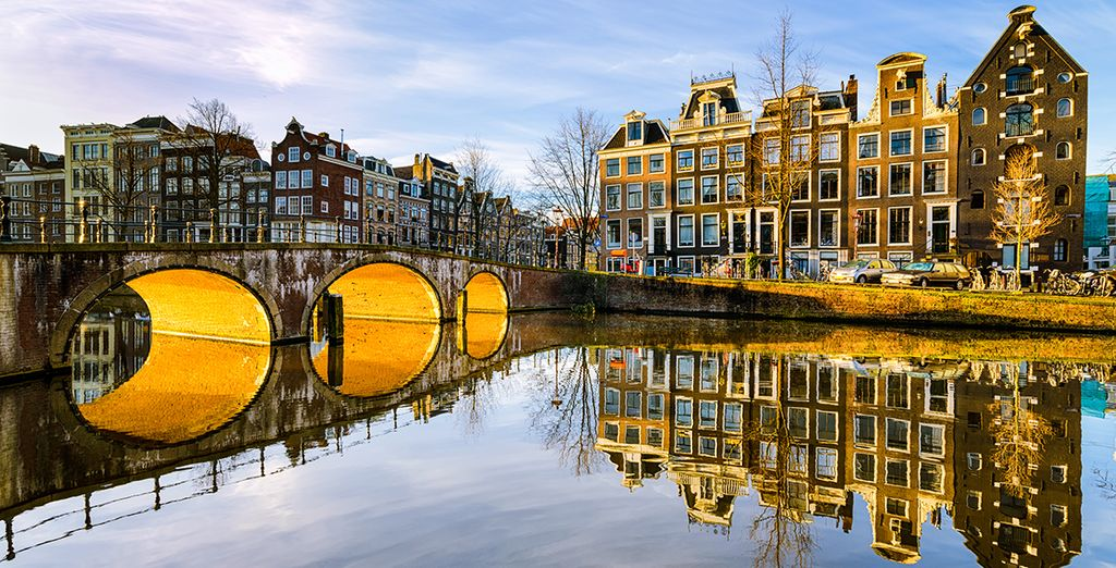 Roam along the city's canals