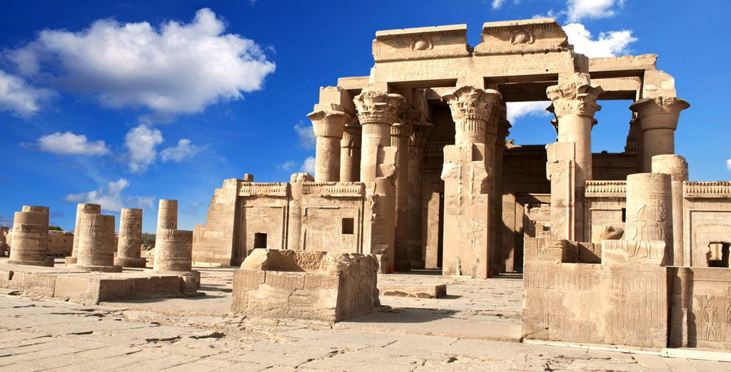 Proceed to the unusual build of the Kom Ombo Temple