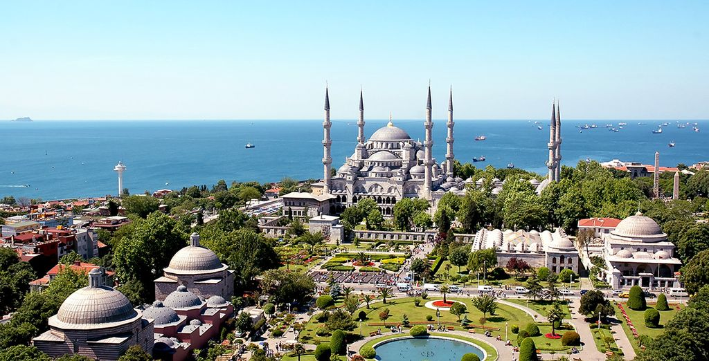 Discover a country steeped in history - Richmond Hotel Istanbul and Greenline Guesthouse Agva 4* Istanbul & Agava