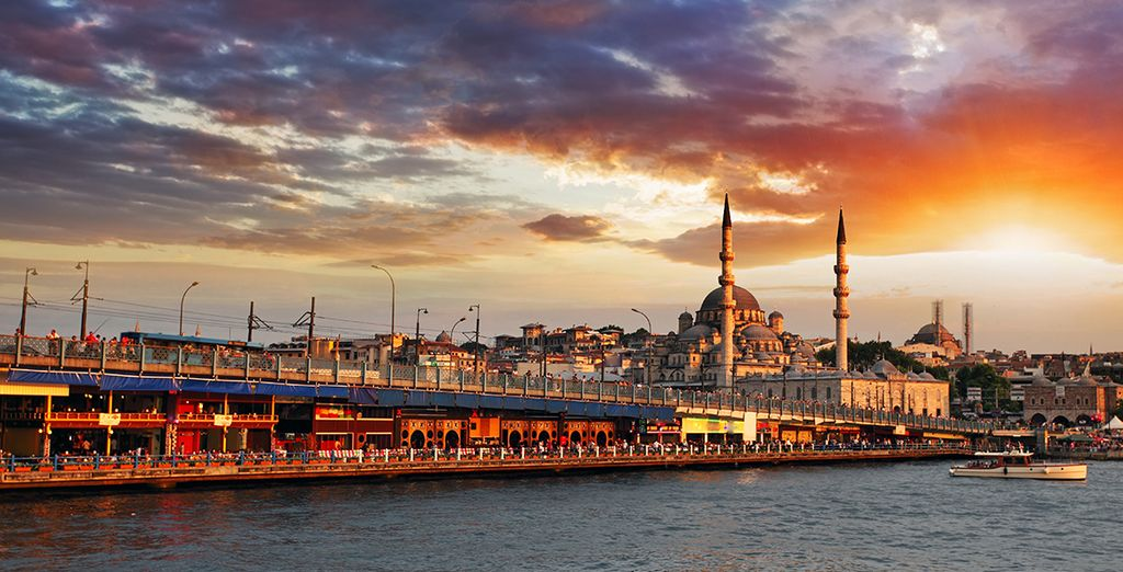Experience the beauty of Istanbul - Richmond Hotel Istanbul and Greenline Guesthouse Agva 4* Istanbul & Agava