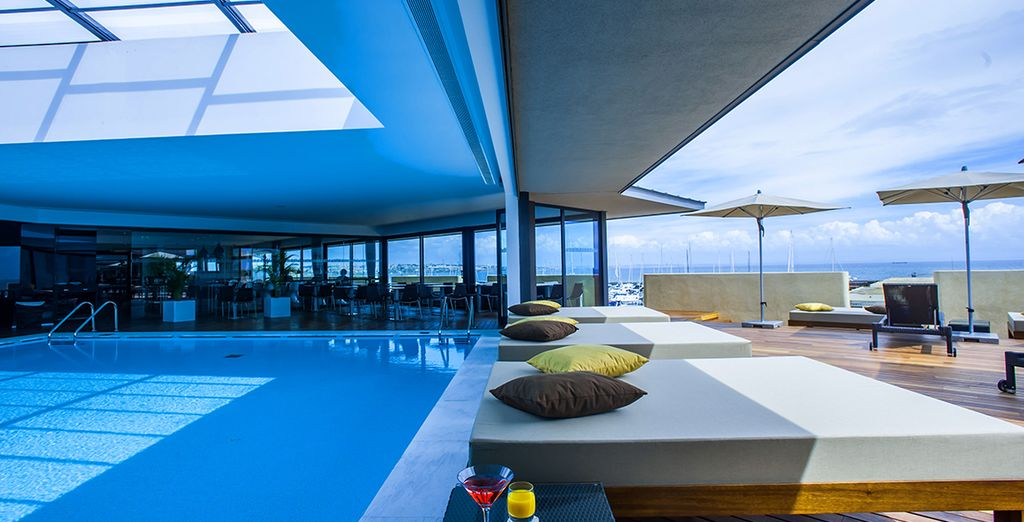 Or simply laze by the pool...