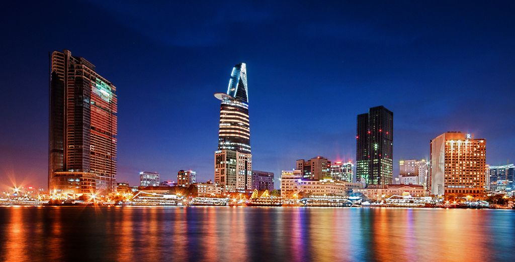 Begin your journey in the vibrant city of Ho Chi Minh