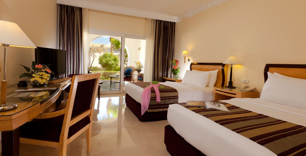 Stay in a Sea View Room