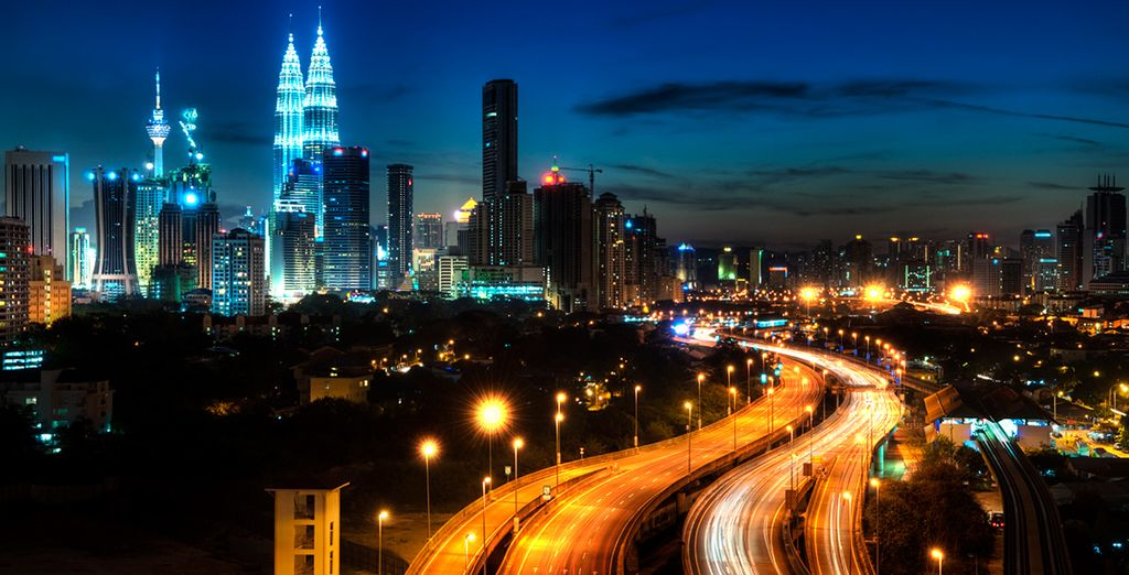 From the bright lights of Kuala Lumpur