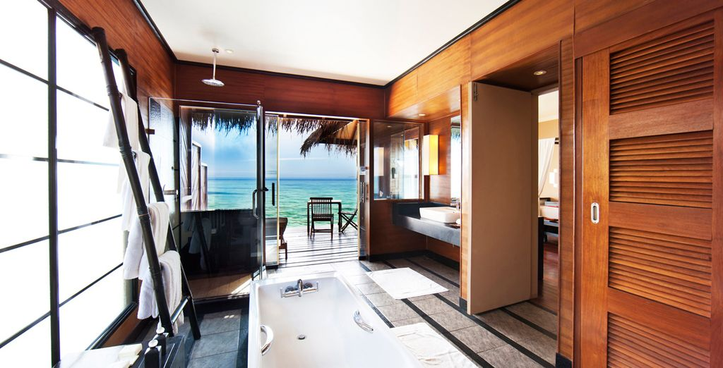 Bathe in absolute tranquility to the sound of the ocean