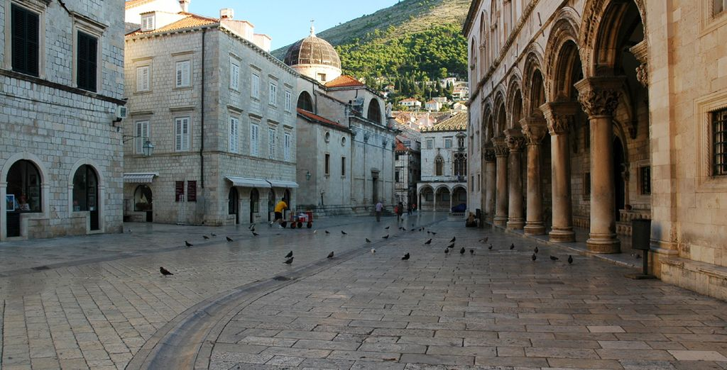 Explore Dubrovnik's ancient streets in the old town