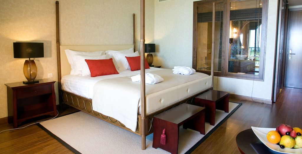 You'll love your spacious double room
