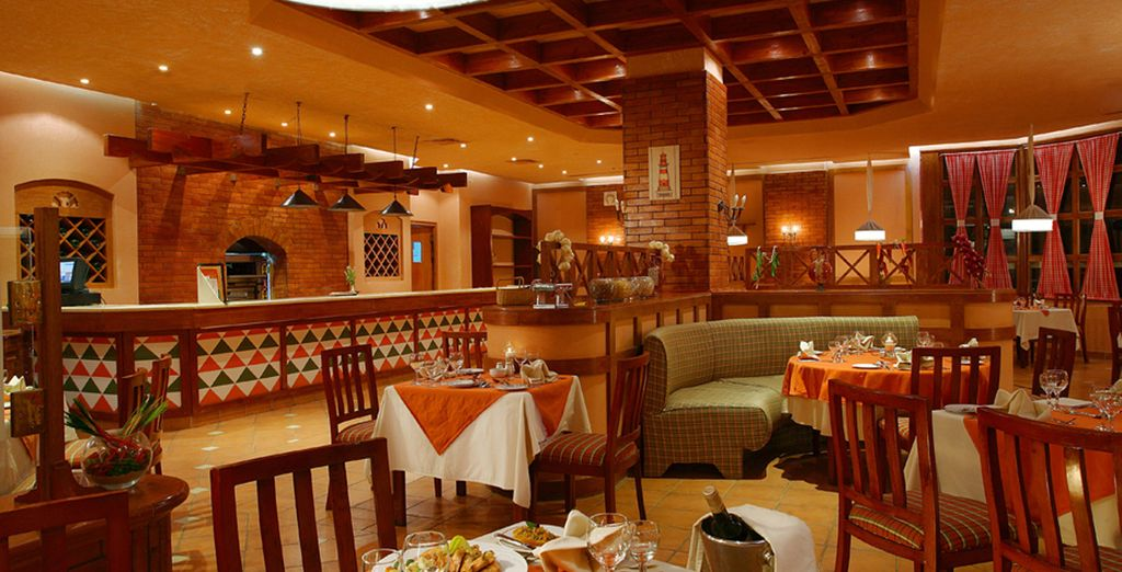 With this all inclusive basis you have the freedom to dine in a variety of eateries