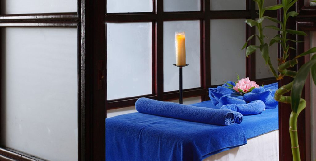 Unwind with a special spa treatment