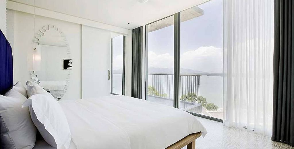 Your upgraded ultra modern and spacious room