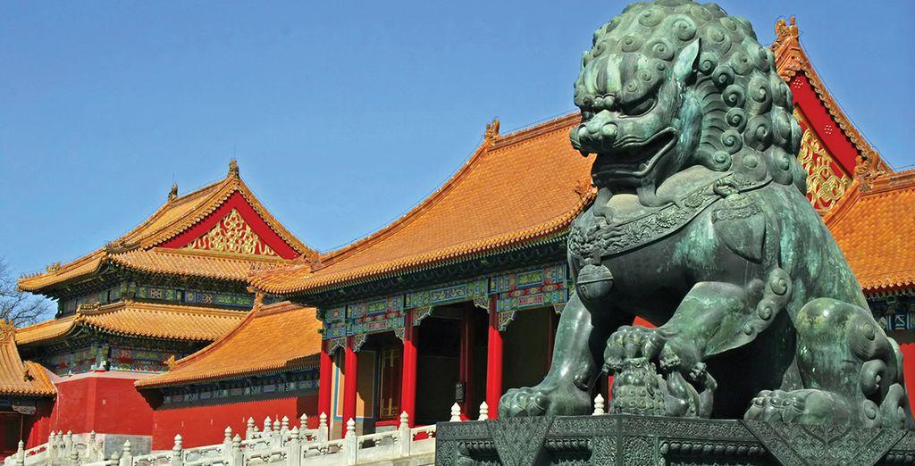 Wander through the historic Forbidden City, Beijing
