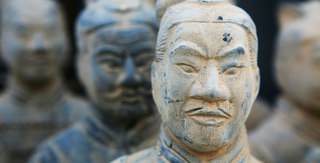 Marvel at the Terracotta Warriors in Xian