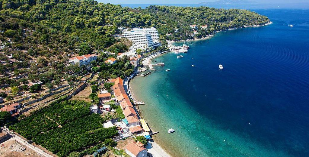 Discover the beauty of Croatia - Lafodia Sea Resort 4* Lopud Island