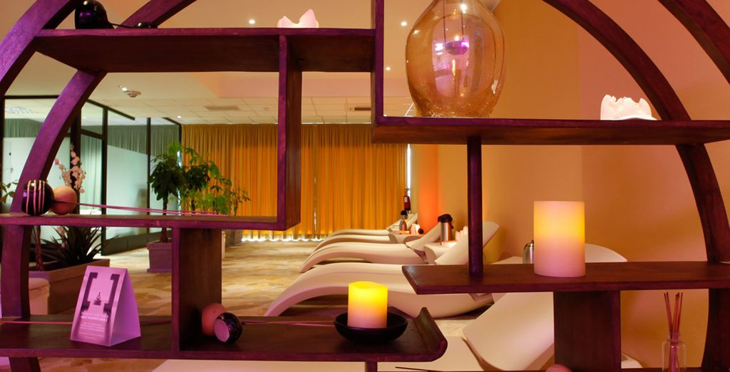 Achieve optimal relaxation in the wellness centre