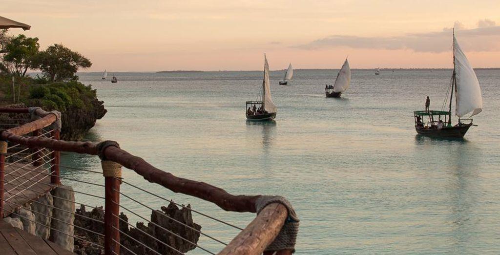 In beautiful Zanzibar