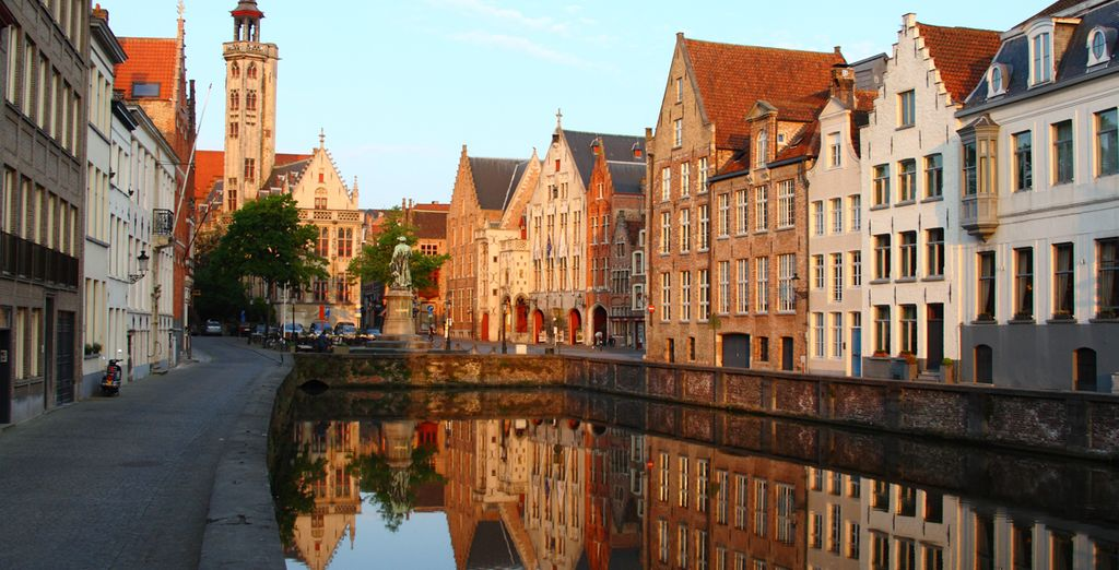 Are waiting to be explored - Hotel Aragon 4* Bruges