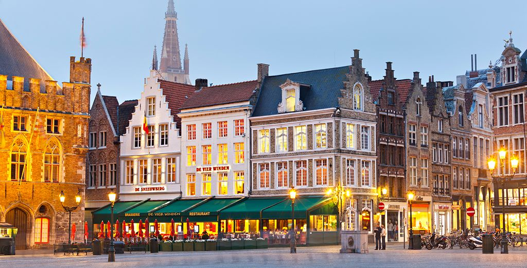Before heading out to discover all Bruges has to offer