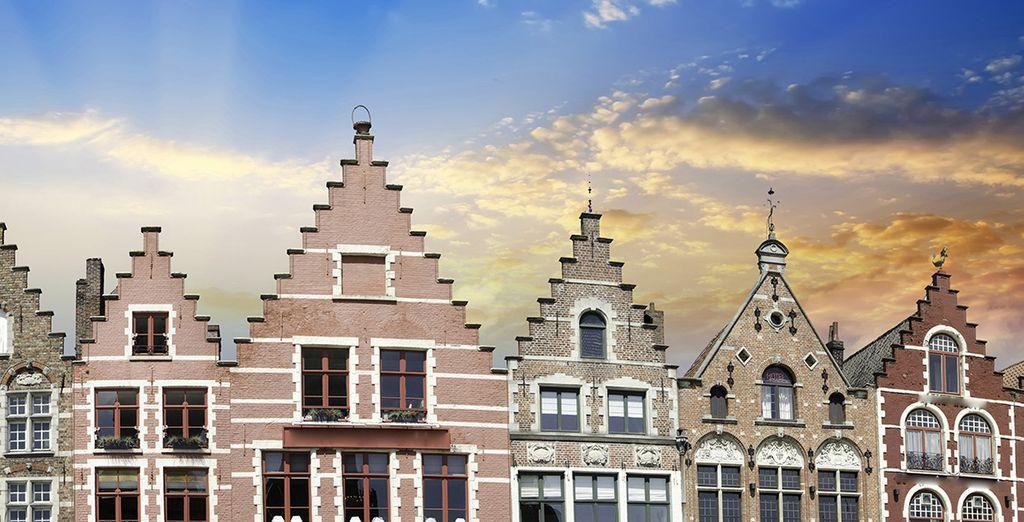 The wonders of Bruges - Hotel Aragon 4* Bruges