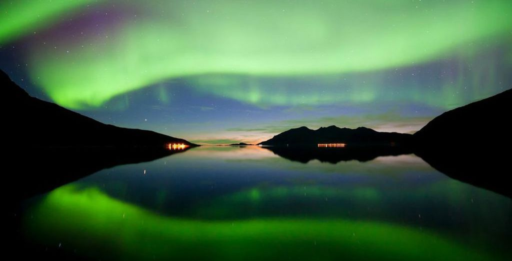 such an awe-inspiring sight - Clarion Hotel The Edge Tromso