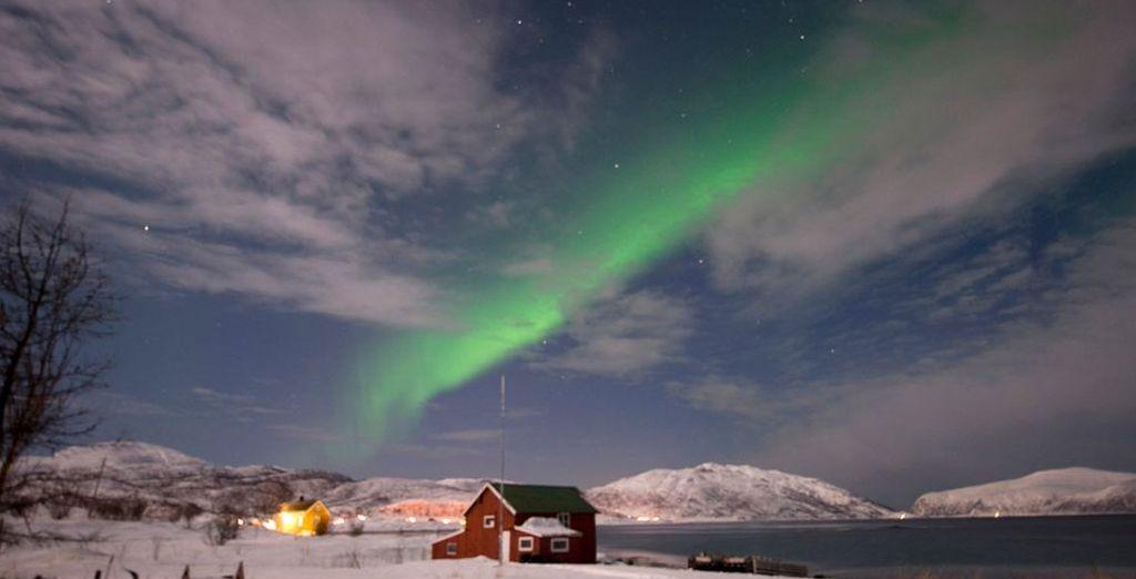 In the winter wonderland of Tromso