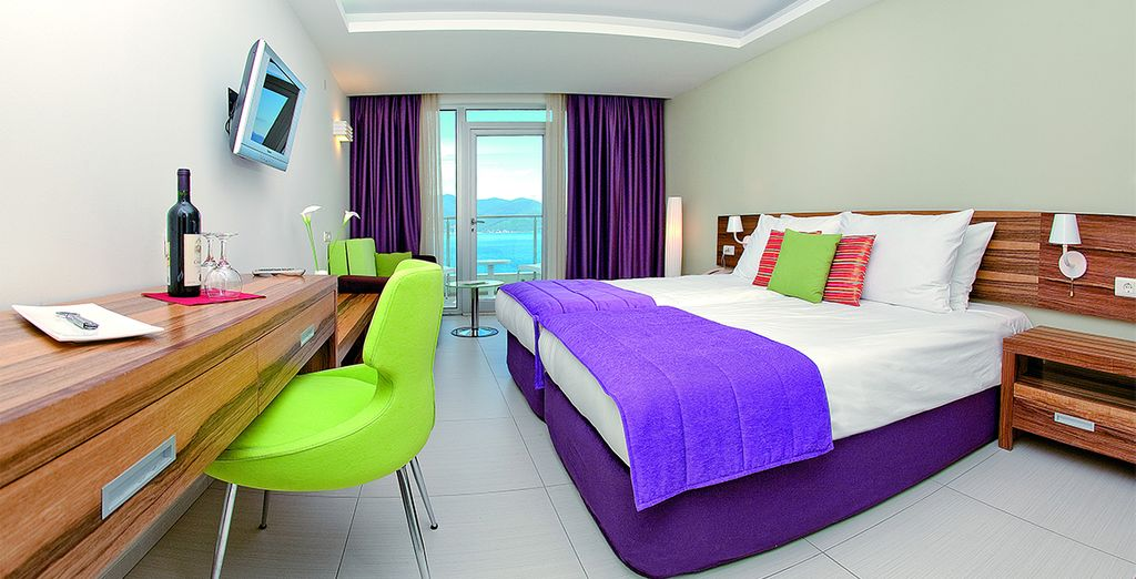Stay in a Standard Side Sea View Room