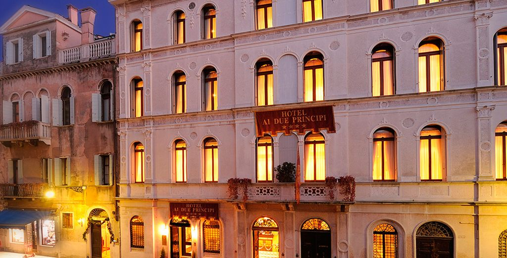 Relish the magical grandeur of Hotel Ai due Principi