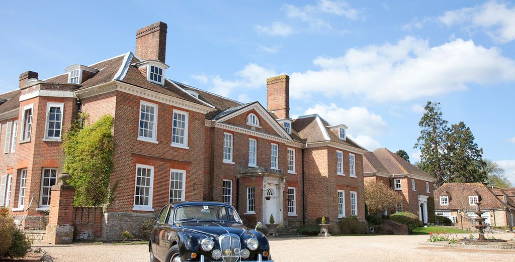 Live a fantasy life at this Grade I listed manor house