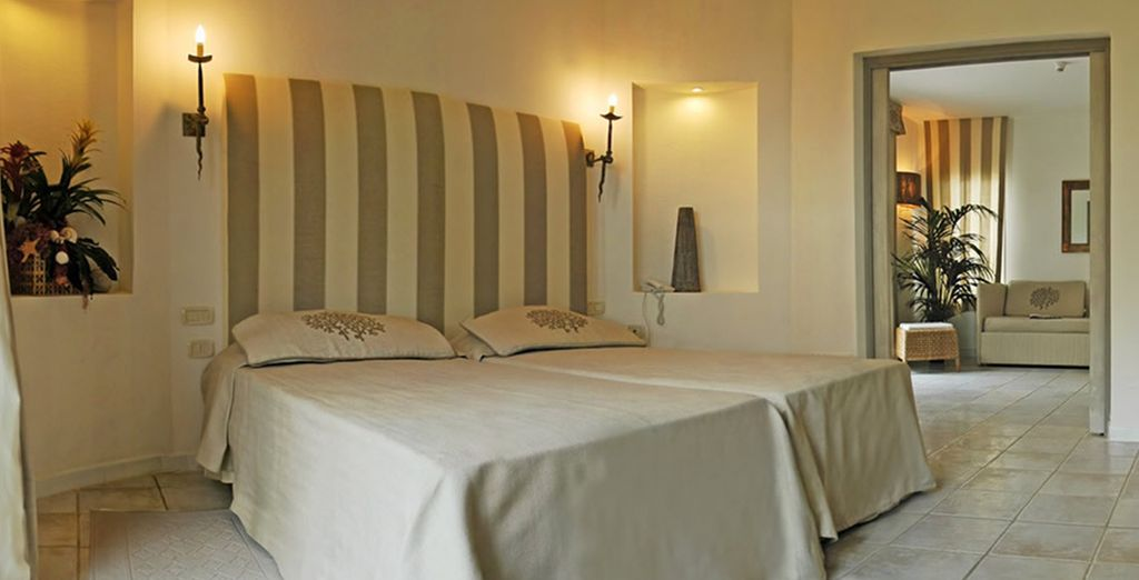 Or a spacious I Nidi Suite