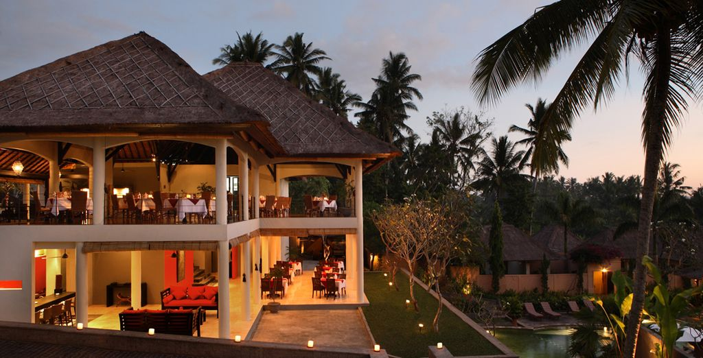 And enjoy delicious Balinese cuisine