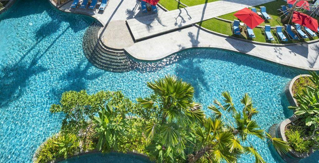 An amazing pool