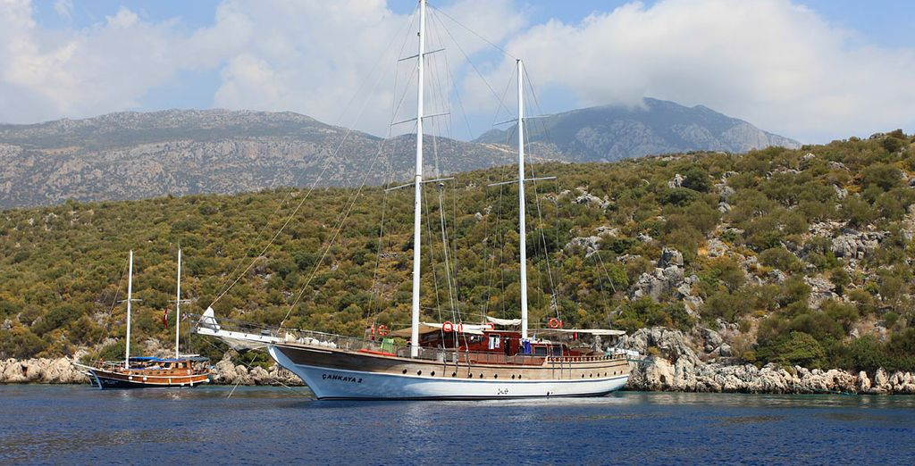 Cruise the South Aegean in luxury for 7 nights - Cankaya II Gulet Cruise 4* Southern Aegean