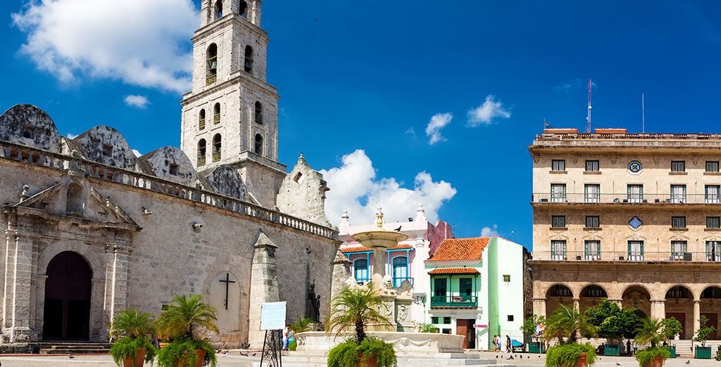 Activities and visits in Cuba