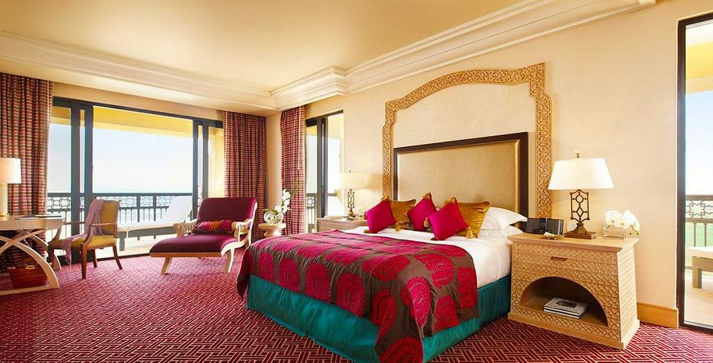 Stay in a luxuriously spacious Pool View King Room