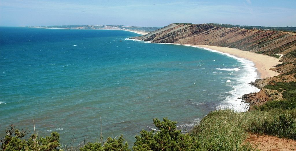 And its many beautiful beaches - add our car hire option to get the most out of your break