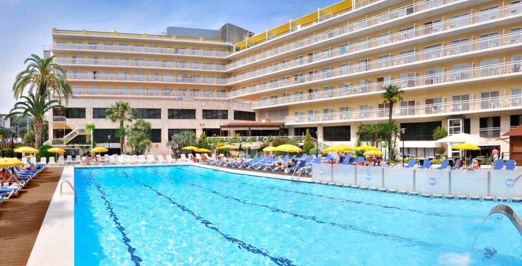 Soak up the Spanish sunshine by the pool