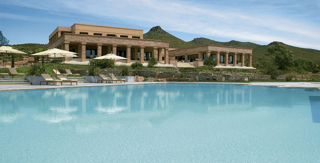 At the 5* Cape Sounio Grecotel Exclusive Resort