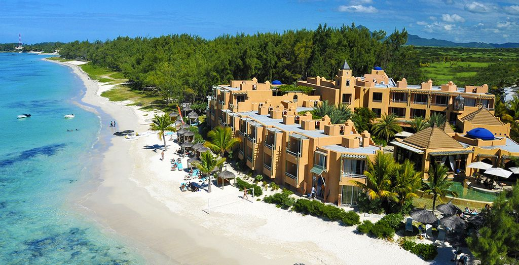Welcome to Mauritius - the pearl of the Indian Ocean - La Palmeraie 4* Belle Mare