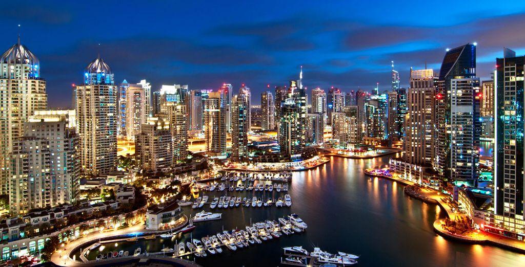 On this glittering Dubai break